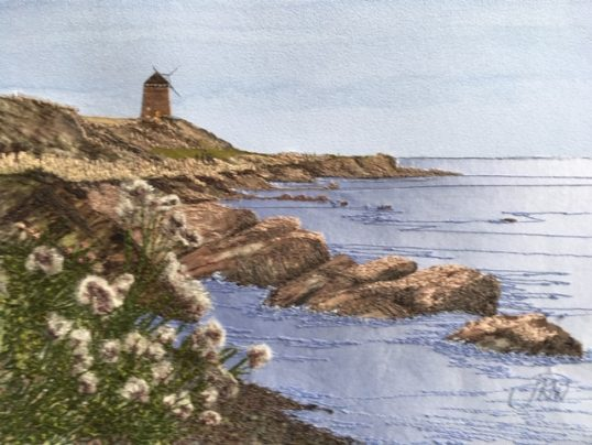 Mill at St Monans by Jacque Wakely