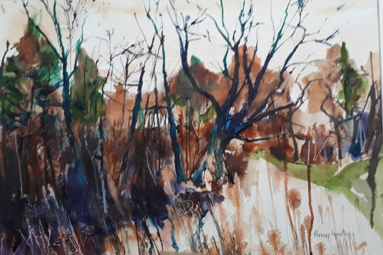 November Treescape, by Penny Lyall