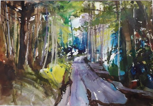 Old Farm Road, by Penny Lyall