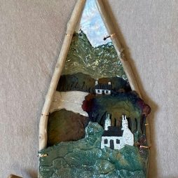 Small Plaque by Jackie Ward