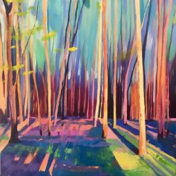 Woodland, Autumn Light by Sarah Anderson