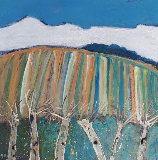 Coppiced Trees by Alison Dickson