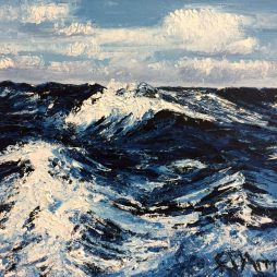 South Atlantic Swell by Fiona Armer