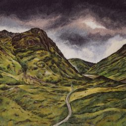 Hidden Valley,Glencoe by Gwen Dean