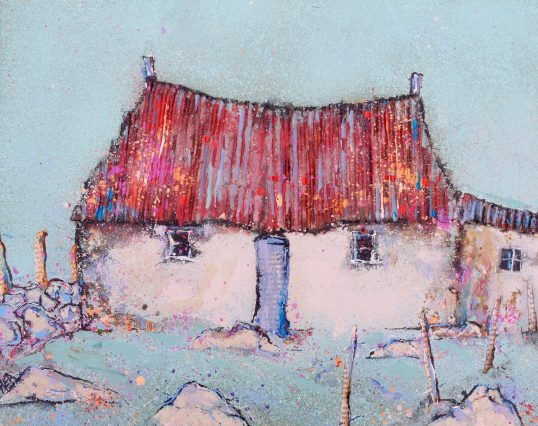 Red Roof by Helen Acklam