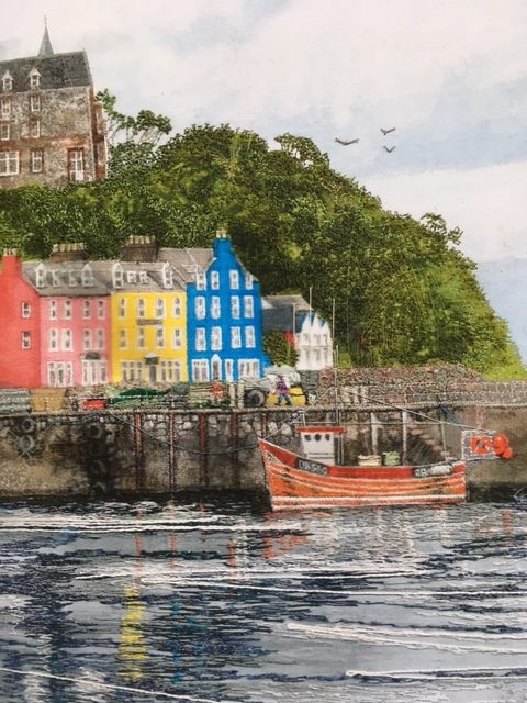 Tobermory Eagles by Jacque Wakely