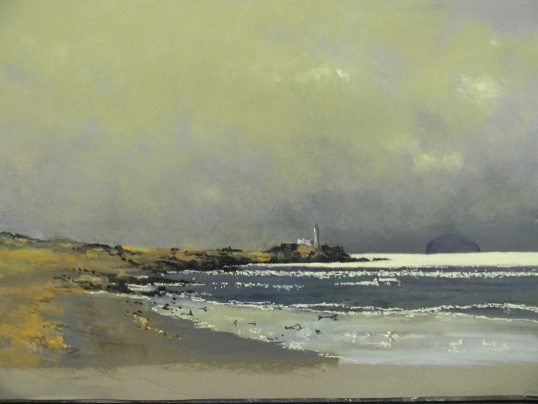 North Channel from Turnberry by Alan Cameron