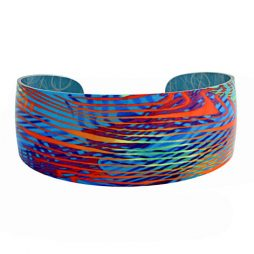Weave Turquoise Bangle by Pixalum