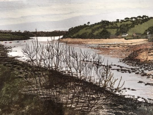 Helford River by Jacque Wakely