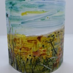 Glass curve by Carrie Paxton